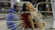 The Rio de Janeiro Carnival was turned into a venue on Sunday for protesting the Olympic Games that the Brazilian city will host in August.