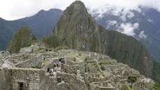 The furry creature, which has only been seen as fossilized remains, was discovered near an archaeological site below the famed-Incan ruins of Machu Picchu.