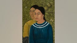"""The Museum of Fine Arts in Bostonannounced it acquired the Mexican artist's """"Dos Mujeres (Salvadora y Herminia) (Two Women), believed to be the first painting Kahlo ever sold."""