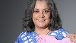 Bobbling along in a sea of millennials, a YouTube crocheting star and social media influencer, Yolanda Soto-Lopez, says she may be the oldest person on the many panels she's invited to participate in – but don't get it twisted: Life experience still counts for a lot.
