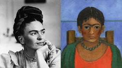 One of Frida Kahlo's most obscure self-portraits has been unearthed, and will be on the Sotheby's auction block, available to the highest bidder Nov. .