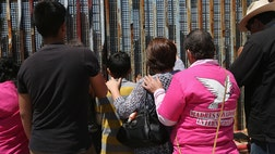 Robert Vivar and Yolanda Varona met three years ago at Friendship Park in Tijuana, on the Mexico side of the U.S.-Mexico border. They were there to connect with their U.S. families -- both deported grandparents, the two had a lot in common.