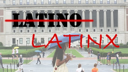 Latinx is the new term that a younger generation of Hispanics who are part of the Founders Generation, or Generation Z, prefer. An all across the country, Hispanic college students are trying to shed the old terms in favor of the new one.