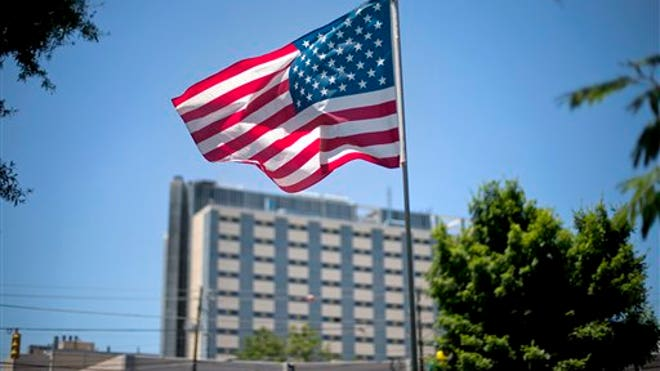 American Flag over VA Medical Center.jpg