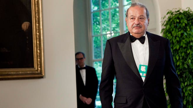 Carlos Slim Mexico City Wealth