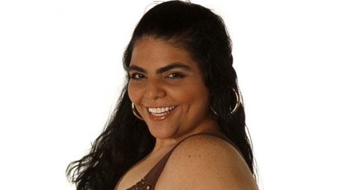 latino woman model: