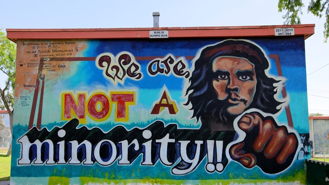 Latino neighborhoods east l a the colorful heart of the for Chicano mural movement