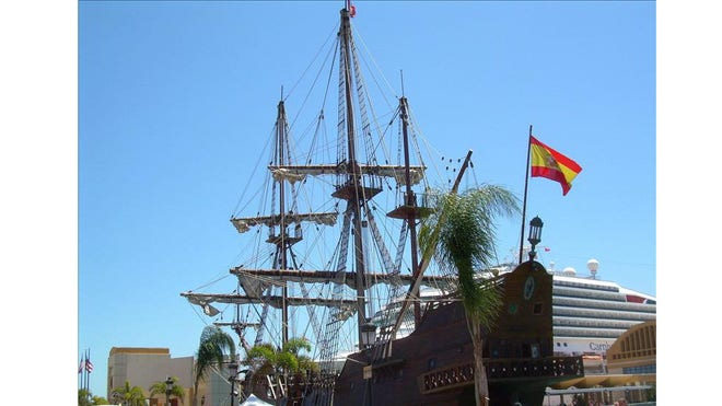 Replica Spanish galleon.jpg