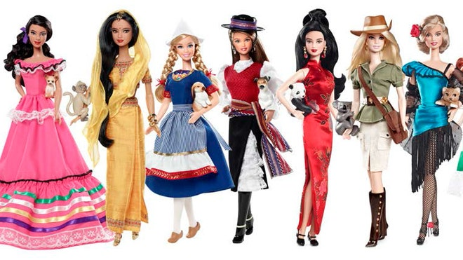 Barbie S 39 Dolls Of The World 39 Spark Debate Over Cultural