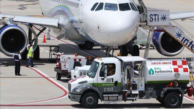 biofuel flight Mexcico
