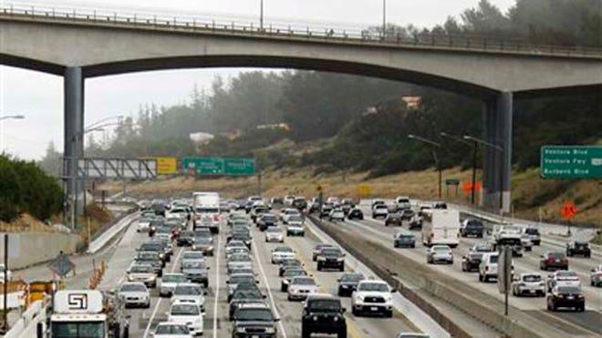 carmageddon2 los angeles california roadwork rt 405