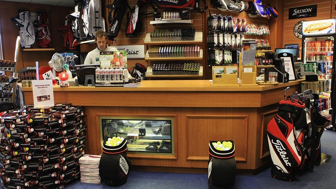 golf shop England