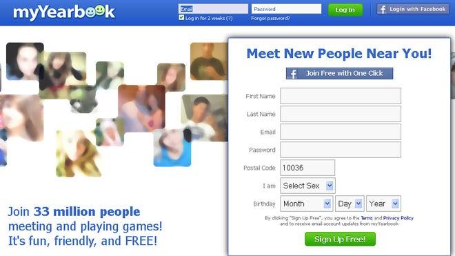 www myyearbook com login