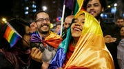 As news broke that a peace deal had been reached to end the bloody -year civil conflict between the Colombian government and the leftist guerrilla group Revolutionary Armed Forces of Colombia, or FARC,many Colombians took the streets, and celebrated in public squares.