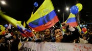 The government's accord with the Revolutionary Armed Forces of Colombia must still be ratified by voters in a plebiscite in order to take effect.