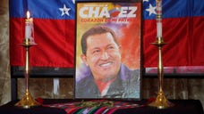 A Venezuelan congresswoman changed the words to the Lord's Prayer to honor late leader Hugo Chavez.