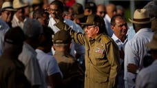 Cuba marked the st anniversary of the revolution with leading officials calling on islanders to be united and to defend the country's communist system.