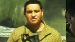 Armando Torres, who served for seven years, was taken by armed men near the Texas border, his family claims.
