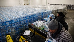 Undocumented immigrants in Flint, Michigan, say they are too afraid go to water distribution centers, and many say they were even unaware there was a water crisis.