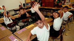 According to new data analysis from the Pew Research Center, today's kindergartners provide more than just a glimpse into the future, they provide the key to the changing face of the country. The study finds a significant increase over the past decade in the number of states in which at least  in  kindergartners are Latino.