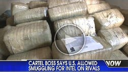 Federal agents allegedly dealt with the notorious Sinaloa drug cartel.