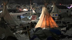 Over , members of the group Veterans Stand for Standing Rock are planning to travel to North Dakota Sunday to form a human shield around the protestors demonstrating against the Dakota Access Pipeline.