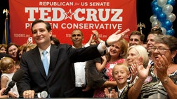 Attorney Ted Cruz pummeled establishment Republican David Dewhurst in the closely watched Senate runoff.