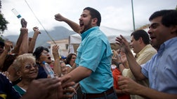Venezuela's opposition platform the Democratic Unity Roundtable, or MUD, asked electoral officials on Tuesday to start the second stage of the recall process against President Nicolas Maduro.