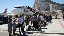 Gibraltar's authorities have joined air-travel industry leaders in calling for the small British territory on Spain's southwestern tip to be included in the European Union's laws governing European aviation.