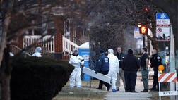Chicago police are investigating what led to the deaths of four men, a woman and a child whose bodies were found with signs of trauma inside a home on the city's South Side.