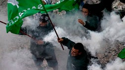 Argentina's strongest unions brought thousands of people into the streets Friday to protest high inflation and job cuts in the biggest demonstrations against President Mauricio Macri since he took office in December.