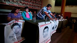 The parents, speaking to the press Tuesday night in Mexico City, said the investigation was based in statements from suspects allegedly involved in organized crime, while scientific evidence was still lacking to support assertions the students were murdered and had their bodies burned in a landfill.