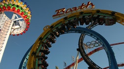 One teenage girl has been killed and another is injured after they were ejected from a whirling ride at an El Paso church carnival.