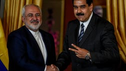 Venezuela's President Nicolas Maduro made room in his high-pressure agenda to receive Iran's foreign minister over the weekend, and he made sure the meeting was broadcast on national TV.