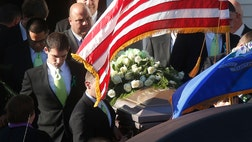 Sandy Hook Elementary teacher Victoria Soto, killed in Newtown's massacre, was put to rest.