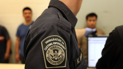 More than  undocumented immigrants were arrested during a four-day sweep by the U.S. Immigration and Customs Enforcement in the Los Angeles area.