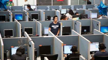 Thousands of deported Mexicans are finding refuge in call centers in Tijuana and other border cities. In perfect English — some hardly speak Spanish — they converse with American consumers who buy gadgets, have questions about warrantees or complain about overdue deliveries.