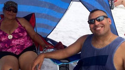 A perfect day at the beach turned into devastating tragedy for a family from Mayaguez, Puerto Rico, who was vacationing on the Florida Gulf Coast. A small Piper plane came down roaring and hit Ommy Irizarry and his -year-old daughter while they were looking for snails.