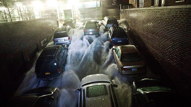 Sandy Flood Sandy Floods New York City