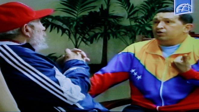 Chavez-Castro-Cuba-Television