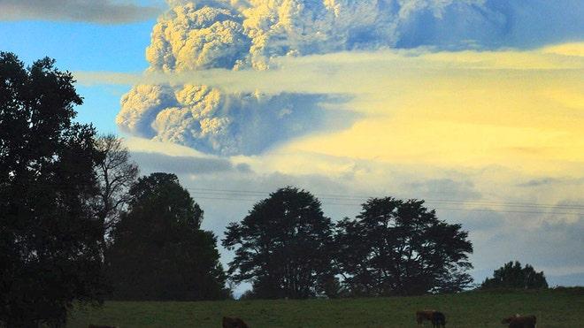 Chile-Volcano-Eruption