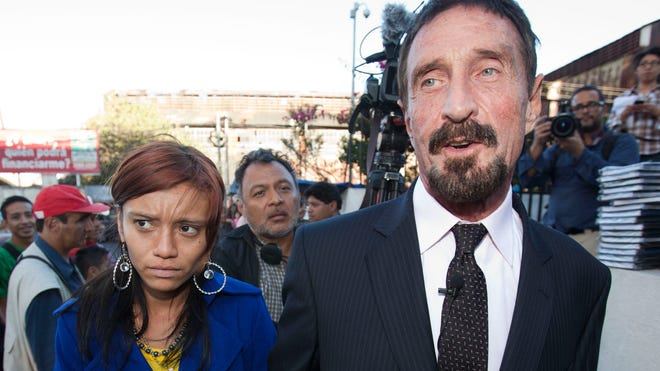 John McAfee and girlfriend Sam.jpg