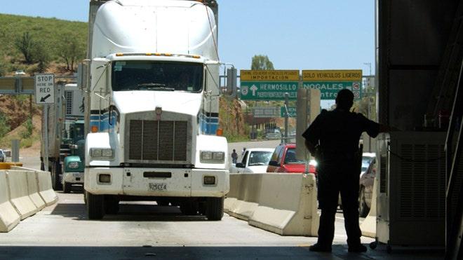 Truck-Customs-Border