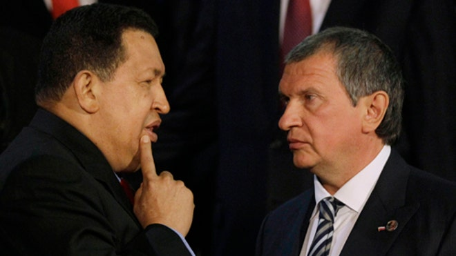Chavez Signs Oil Deal with Russia thumbnail