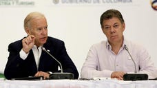 US Vice President Joe Biden on Friday wrapped up a two-day visit to Colombia, where he expressed hope that the bilateral relationship that has grown in recent years will not be weakened after President-elect Donald Trump takes office in January.