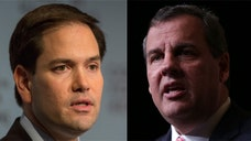 New Jersey Gov. Chris Christie and Florida Sen. Marco Rubio will both be staying over at Romney's property in Wolfeboro, New Hampshire, an aide to Romney confirmed.
