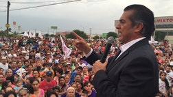 Javier El Bronco Rodriguez's brash style and improbable story is bringing the new governor of Nuevo León national and international attention and causing Mexico's chattering classes to consider him a presidential possibility in .