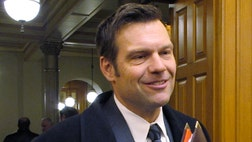 Kobach's influence was strongly present in Trump's nomination acceptance speech Thursday night, when he addressed many of the positions Kobach helped draft for the campaign and the party platform.