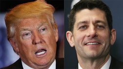 A new poll released Friday by Fox News Latino found that the top ranking House Republican's favorable-unfavorable rating among Latinos was much better than his party's presumptive nominee.