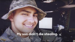 A new video released by the Hillary Clinton campaign on Tuesday , details the compelling life story of Damian Lopez Rodriguez , an undocumented immigrant, brought to the United States as a child from Mexico -- who eventually enlisted in the U.S. Army at the young age of , until he died in the Iraq war in . He was later posthumously granted American citizenship by President George W. Bush.